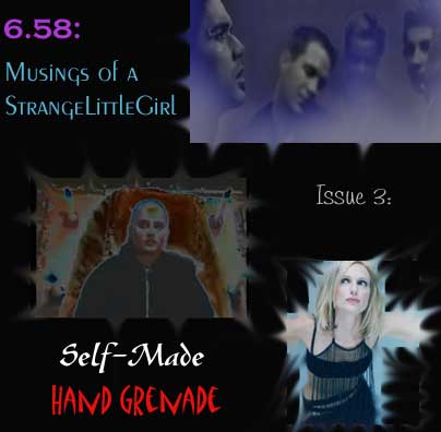 Issue 3:  Self-made Hand Grenade